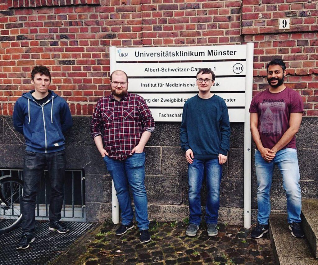 Michael Fujarski, Tim Segger, Cedric Vadder, Prof. Julian Varghese